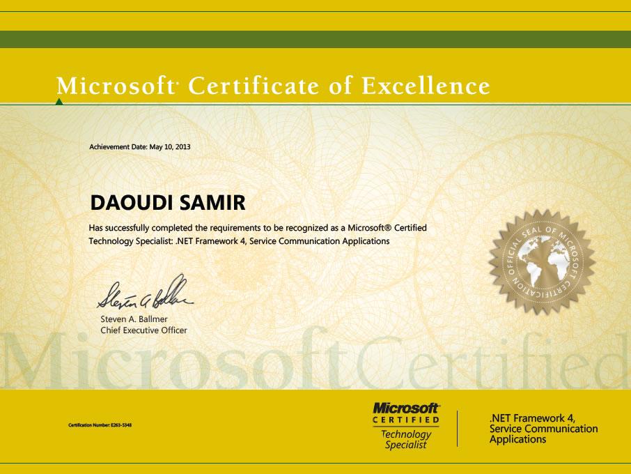 Certifications Daoudi Samirs Technical Blog